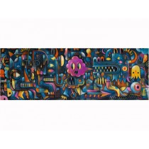 Djeco Puzzle Monster Wall (500 Pcs)