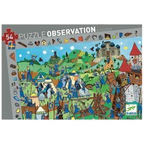Djeco observation puzzle Knights