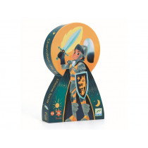 Djeco first puzzle KNIGHT OF THE FULL MOON  36 pieces