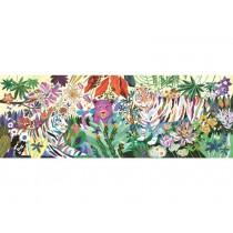 Djeco Puzzle Rainbow Tigers (1000 Pcs)