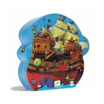 Djeco Puzzle PIRATE SHIP BARBAROSSA (54 pieces)