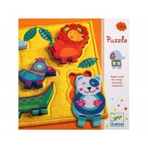 Djeco relief puzzle Junga
