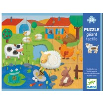 Djeco giant puzzle Tactile puzzle Farm