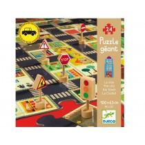 Djeco giant puzzle The city