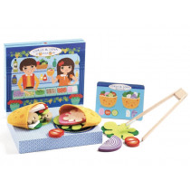 Djeco Role playing game children's kitchen PITA by CYRUS & LÉNA