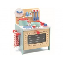 Djeco Play Kitchen STOVE blue
