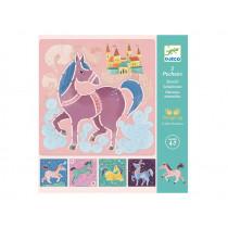 Djeco Stencils HORSES