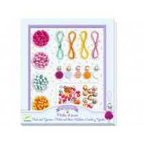 Djeco Kids Jewellery Kit BEADS & LITTLE GIRLS