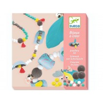 Djeco Bijoux Jewellery Kit BEADS AND FEATHERS