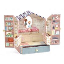 Djeco Music box with jewelry box TINOU SHOP