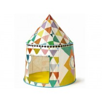 Djeco Play Tent multicolor