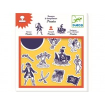 Djeco Stamp Set Pirates