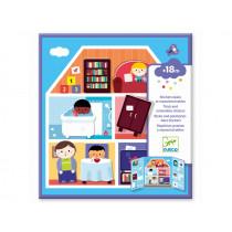 Djeco Sticker HOUSES