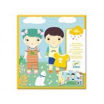 Djeco Sticker CLOTHES