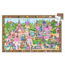 Djeco Observation Puzzle PRINCESS (54 pieces)
