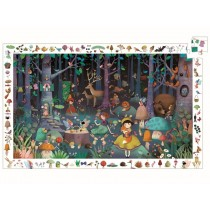 Djeco Observation Puzzle ENCHANTED FOREST (100 pieces)
