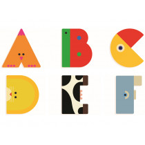 Djeco Wooden Animal Letters
