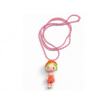 Djeco Tinyly Necklace BERRY