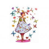 Djeco wall stickers Rose of wood