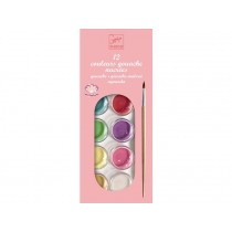 Djeco 12 Watercolour Palette PEARLY