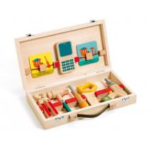 Djeco Wooden Toolbox SUPER BRICOLO