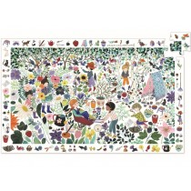Djeco Observation Puzzle 1000 FLOWERS (100 pieces)