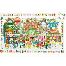 Djeco Observation Puzzle CRAZY PARK (35 pieces)