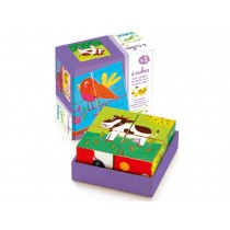 Djeco puzzle colourful farm