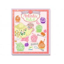 Djeco Artistic Patch TEA TIME Glitter Collage