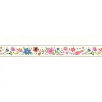 Djeco Decorative Sticky Tape FLOWERS