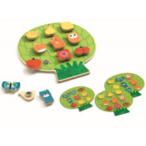 Djeco Wooden Learning Game CLIPACLIP