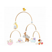 Djeco Wooden Mobile BABY ANIMALS