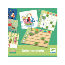 Djeco Learning Game ANIMO COLORIX