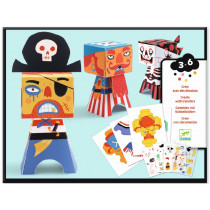 Djeco Paper Crafting PIRATES