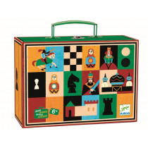 Djeco Case with two Games CHESS & CHECKERS