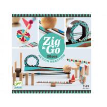 Djeco Domino Race Track Zig & Go 28 PIECES