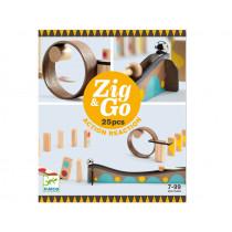 Djeco Domino Race Track Zig & Go 25 PIECES