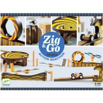 Djeco Domino Race Track Zig & Go 45 PIECES