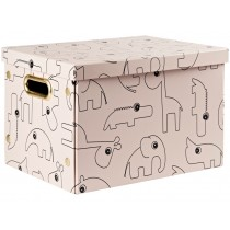 Done by Deer Foldable storage box CONTOUR powder