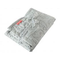 Done by Deer Baby blanket light grey