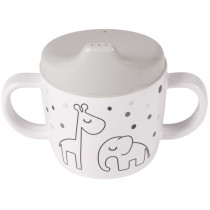 Done by Deer 2-handle cup DREAMY DOTS grey