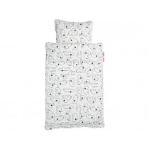 Done by Deer Bedlinen CONTOUR white