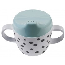 Done by Deer happy dots 2 handle cup blue