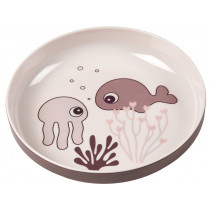 Done by Deer mini plate SEA FRIENDS powder