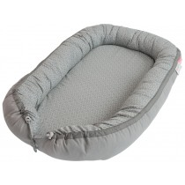 Done by Deer Cozy Baby Nest Balloons grey