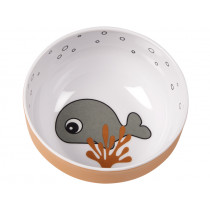 Done by Deer Mini Bowl SEA FRIENDS mustard/grey