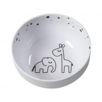 Done by Deer Mini Bowl DREAMY DOTS grey