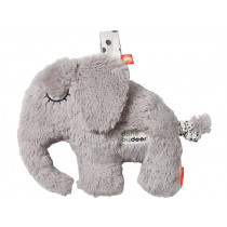 Done by Deer Musical cuddly toy ELPHEE grey