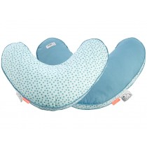 Done by Deer nursery pillow Happy Dots blue