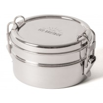 ECO Brotbox Stainless Steel TIFFIN DOUBLE+